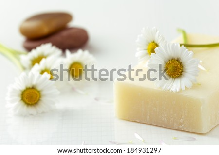 Flower and Soap