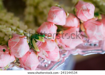 Flower arrangements for weddings - stock photo