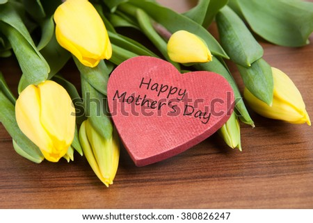 Flower background for mothers day