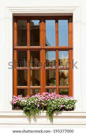 Window Flower Box Stock Images, Royalty-Free Images & Vectors ...