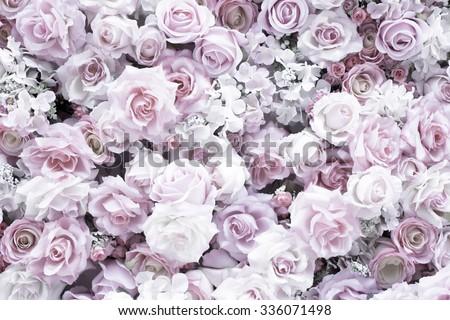 flower decoration - stock photo