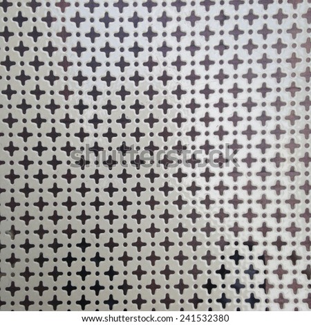 flower iron patterns background - stock photo