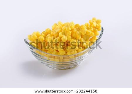Flower Pops Snacks - stock photo
