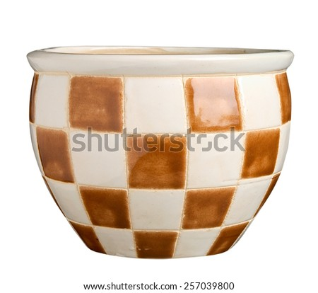Flower pot - stock photo