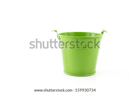 Flower pots - stock photo