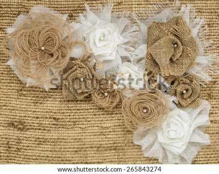 Shabby chic background wedding vintage pearl stock photo for Space made of fabric