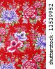 Flower seamless pattern, element for design - stock photo