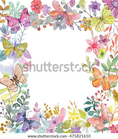 Flower watercolor illustration. Beautiful composition, good for design of Mother's Day, wedding, birthday, Easter, Valentine's Day, post card and other, Watercolor background