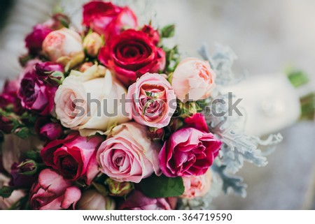 flowers wedding bride