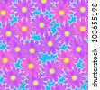 Flowery background - stock vector