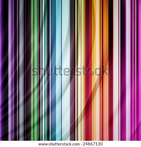 Flowing smooth multicolored background