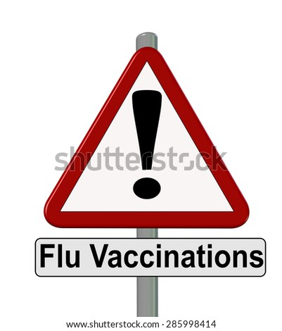 flu vaccinations ahead