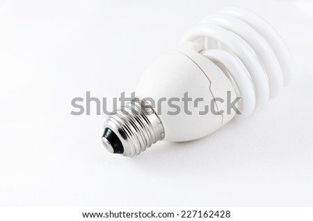 fluorescent lamp - stock photo