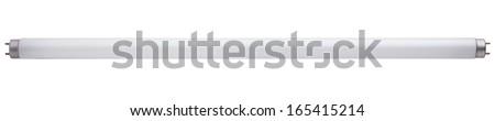 Fluorescent tube - stock photo