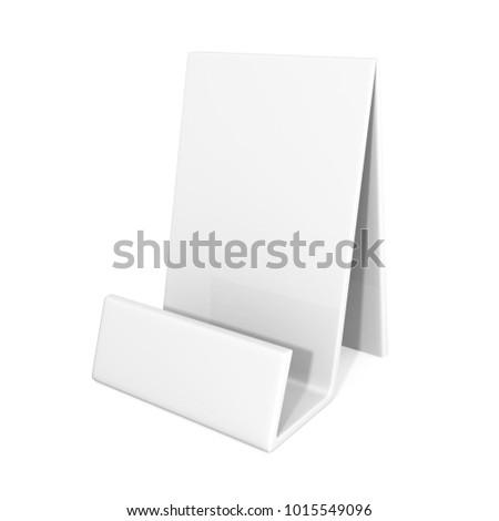 Flyer brochure bookletbusiness cards holder 3d stock illustration flyer brochure bookletbusiness cards holder 3d illustration colourmoves