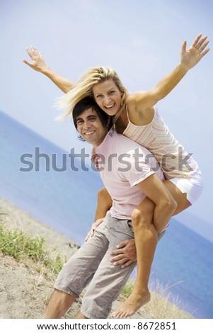 flying high - stock photo