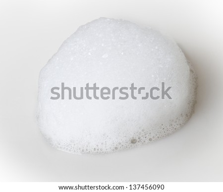 foam - stock photo
