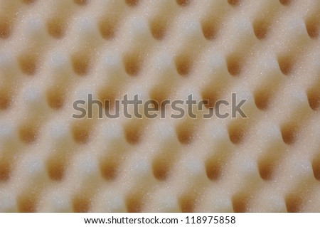 Foam acoustic surface background - stock photo