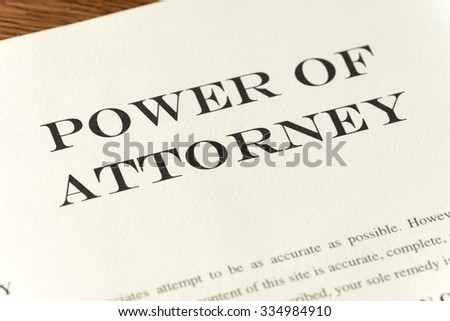 focus on power of attorney