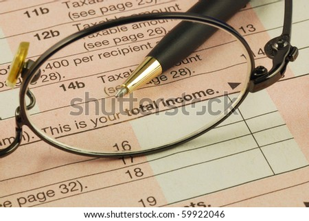 Focus on the total income in the Income Tax return