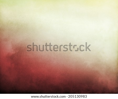 Fog and clouds on a red to bright, yellowish white textured gradient background.  Image displays significant paper grain and texture at 100 percent.