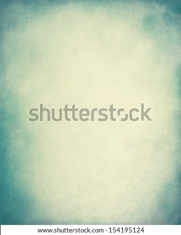 Fog and clouds overlaid onto a grunge paper background with cross-processed colors.  Image displays a pleasing paper grain and texture at 100 percent. - stock photo