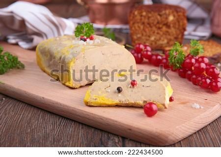 foie gras - stock photo