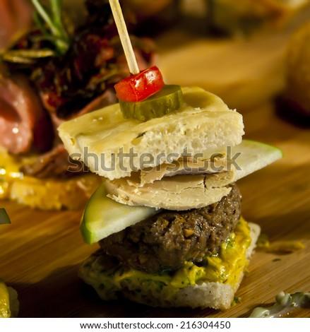 Foie Gras Snack  - stock photo