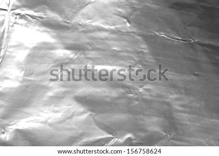 foil as a background - stock photo
