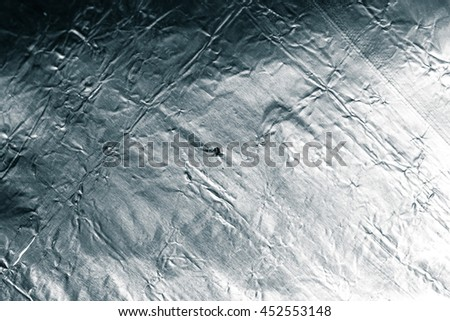 foil as a background. texture