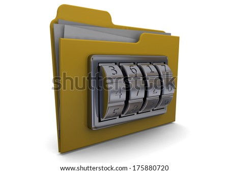 Folder And Code - 3D