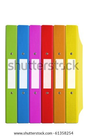 folder color - stock photo