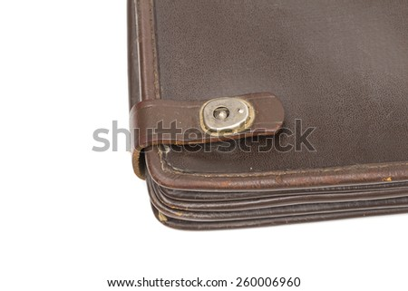 folder on the white background - stock photo