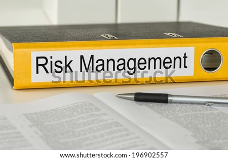 Folder with the label Risk Management