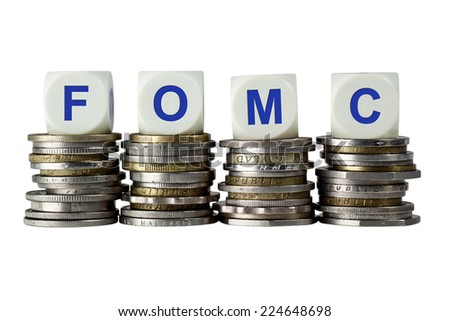 FOMC - Federal Open Market Committee  - stock photo