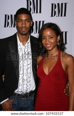 Fonzworth Bentley and Faune A. Chambers  at the 2008 BMI Urban Awards. The Wilshire Theater, Los Angeles, CA. 09-04-08