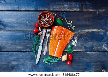 Stock fish stock images royalty free images vectors for Aromatic herb for fish