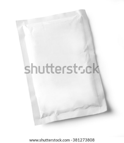 food bag for new design, isolated over white background with clipping path