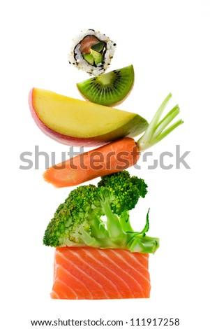 Food Balance - stock photo