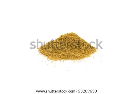 Food & Drinks - Spices - Cumin isolated on white background.
