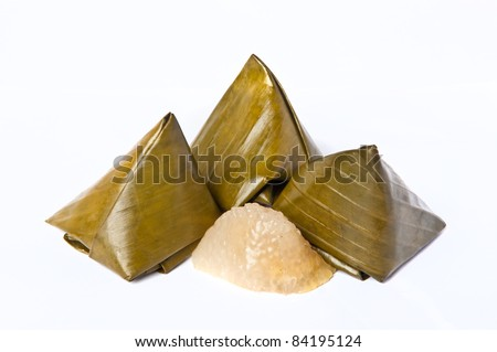 Food for religious worship in Chinese - stock photo