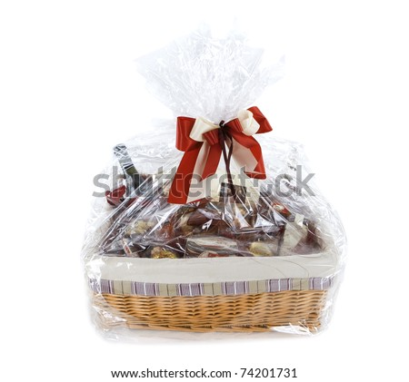 Food hamper - stock photo