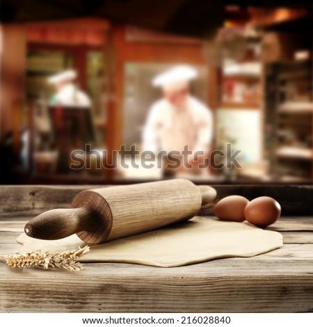 food in restaurant  - stock photo