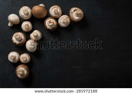 Food Ingredients Mushroom - stock photo