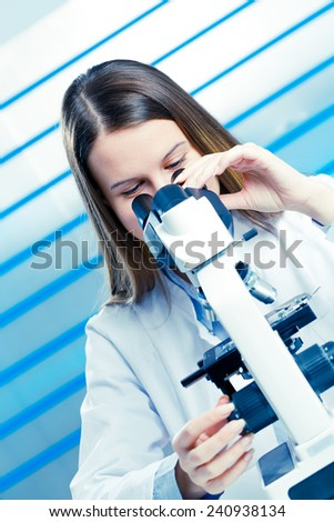 food quality control - stock photo