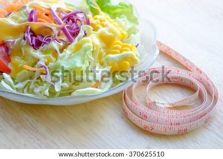 Food Salad - stock photo