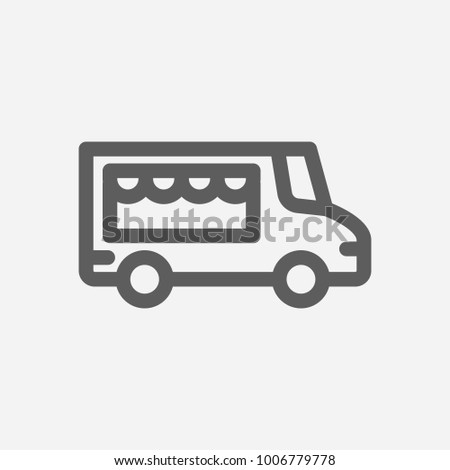 Catering trailer stock images royalty free images for Food truck design app