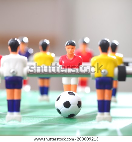 Foosball.football table