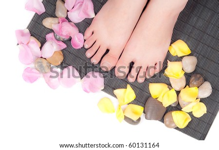 Foot Care Concept - stock photo