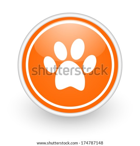 foot icon - stock photo